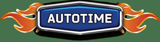 Логотип компании производителя масштабных металлических моделей, Autotime