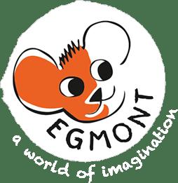 Логотип бельгийской компании - Egmont Toys