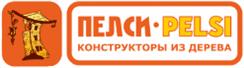 Логотип компании производителя деревянных игрушек - Пелси