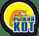Логотип компании производителя деревянных игрушек - Рыжий кот