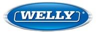 Логотип компании производителя металлических масштабных моделей Welly