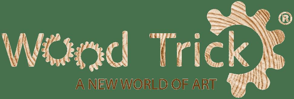 Логотип украинского производителя деревянных игрушек - ООО «Wood Trick»