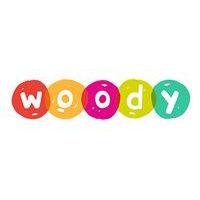Логотип белорусского производителя деревянных игрушек - Вуди (Woody)