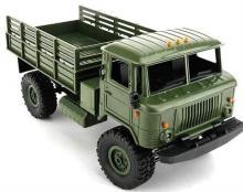 Отзыв о модели - Радиоуправляемая модель Краулера Offroad Truck Газ-66 Шишига 4WD RTR 1:16, Aosenma WPLB-24