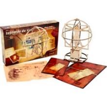 """Сборная деревянная модель """"Витрувианский человек"""" Леонардо да Винчи, Revell (Ревелл) 00509"""