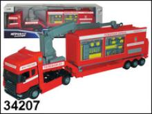 "Пожарная машина ""Scania emergency base"", 1:48, Autotime"