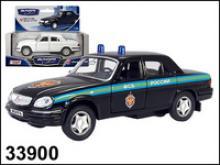 Модель автомобиля ГАЗ-31105. ФСБ, 1:43, Autotime