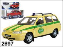 Модель автомобиля Лада 111. Инкассация, 1:34, Autotime