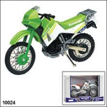 Модель мотоцикла Kawasaki KLR 650, 1:18, Autotime