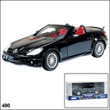 Модель автомобиля Mercedes-Benz SLK55 AMG, 1:24, Autotime