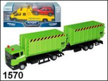 "Машина ""Scania Lorry"". Автопоезд, 1:48, Autotime"