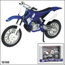 Модель мотоцикла Yamaha YZ250, 1:18, Autotime