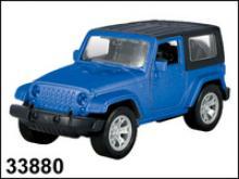 Модель автомобиля Jeep Wrangler 4wd. Гражданская, 1:34, Autotime