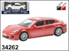 Модель автомобиля Porsche Panamera Turbo, 1:43, Autotime