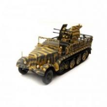 """Модель бронетехники """"Германия. Легкое зенитное орудие Sd. Kfz. 7/1 mit 2 cm Flakvierling 38 1943"""", Unimax"""