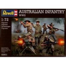 """Набор миниатюр """"Австралийская пехота, 2-ая МВ"""", Revell (Ревелл)"""