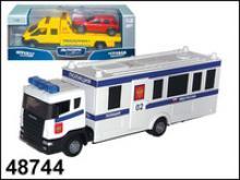 """Машина """"Scania Command Unit"""". Полиция, 1:48, Autotime"""