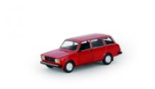 Модель автомобиля ВАЗ-2104, красная, масштаб 1:24, Автопанорама