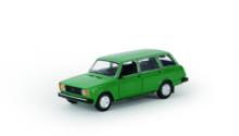 Модель автомобиля ВАЗ-2104, зеленая, масштаб 1:24, Автопанорама