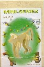"""Сборная модель """"Павиан"""", Чудо-дерево (VGA Wooden Toys)"""