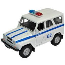 "Модель автомобиля ""УАЗ-31514. Полиция"", 1:34-39, Welly"