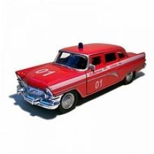 """Модель автомобиля """"Газ-13 Чайка. Пожарная охрана"""", 1:43, Autotime"""