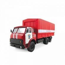 """Машинка металлическая """"Maz-516. Пожарная охрана"""", 1:43, Autotime"""