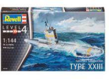 """Сборная модель """"Немецкая подводная лодка тип XXIII """", Revell (Ревелл)"""