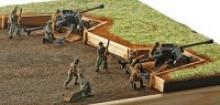 """Сборная модель """"Противотанковая пушка PaK40 и экипаж"""", Revell (Ревелл)"""