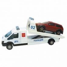 """Машинка металлическая """"Recovery Truck. Эвакуатор Полиция"""", 1:48, Autotime"""