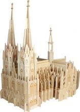 """Сборная деревянная модель """"Кельнский собор"""", Чудо-дерево (VGA Wooden Toys)"""