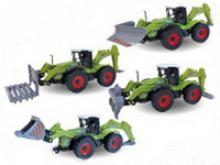"""Машинка металлическая """"Farm Bulldozer. С навесным оборудованием"""", 1:48, Autotime"""