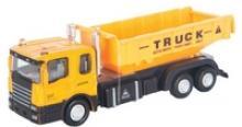 """Машинка металлическая """"Construction Truck. Строительный самосвал"""", 1:48, Autotime"""