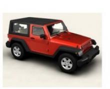 """Коллекционная игровая модель """"Jeep Wrangler"""", IDEAL 117024"""
