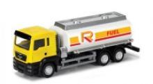"""Коллекционная масштабная, металлическая игровая модель """"Man Oil Tanker"""", IDEAL 038031"""