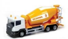 """Коллекционная игровая модель """"Scania Cement Mixer"""", IDEAL 039021"""