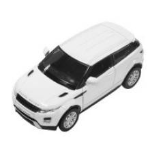 """Машинка """"Land Rover Range Rover Evoque"""" (белая), PIT STOP"""