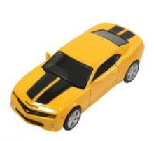"""Машинка инерционная """"Chevrolet Camaro R-GT"""" (желтая), 1:32, PIT STOP"""