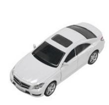 """Машинка """"Mercedes-Benz CLS 63 AMG (C218)"""" (белая), PIT STOP"""