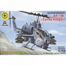 """Сборная модель вертолета AH-1W """"Супер Кобра"""" (1:72), Моделист"""