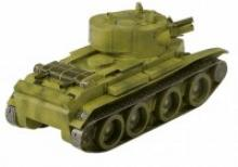 """Сборная модель из картона """"Танк БТ-7 артиллерийский"""", 69 деталей, Умная бумага"""