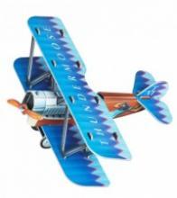 """Сборная модель из картона """"Самолетик"""", 15 деталей, Умная бумага"""