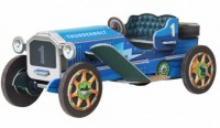 """Сборная модель из картона """"Машинка"""", 32 детали (синяя), Умная бумага"""