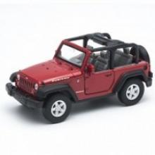 "Модель автомобиля ""Jeep Wrangler Rubicon"", 1:34-39, Welly"
