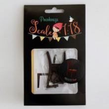 """Набор для изготовления миниатюры """"Стул"""", арт. 1182031, Pocohouse"""