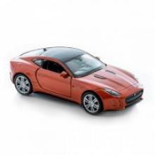 """Модель автомобиля """"Jaguar F-Type Coupe"""", 1:34-39, Welly"""