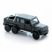 "Модель автомобиля ""Mercedes-Benz G63 AMG 6x6"", 1:34-39, Welly"