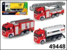 """Машинка """"Fire crew"""", 1:60, Autotime"""
