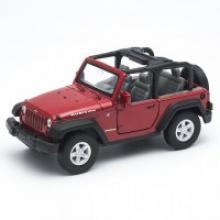 "Модель автомобиля ""Jeep Wrangler Rubicon"", 1:32, Welly"