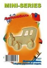 """Сборная деревянная модель """"Автомобиль"""", Чудо-дерево (VGA Wooden Toys) MA1027"""